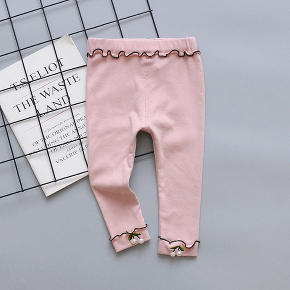 Baby Girl | Leggings | Cotton - Tods Bay