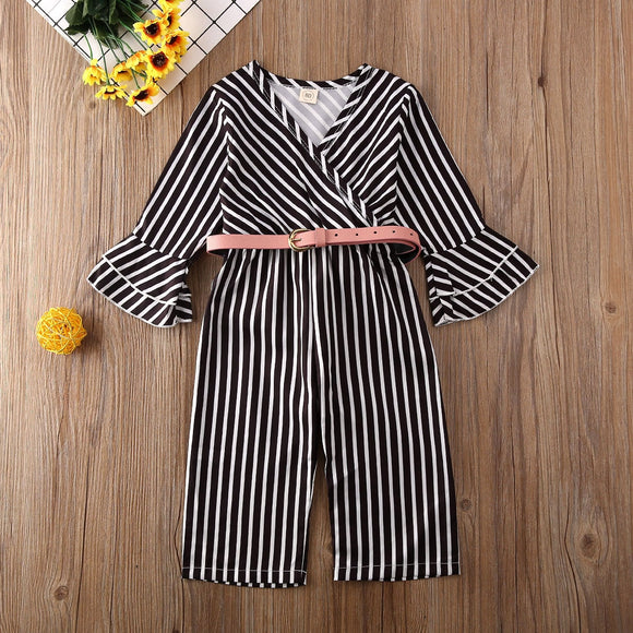 Kid Girl | Jumpsuit | Toddler | Striped - Tods Bay