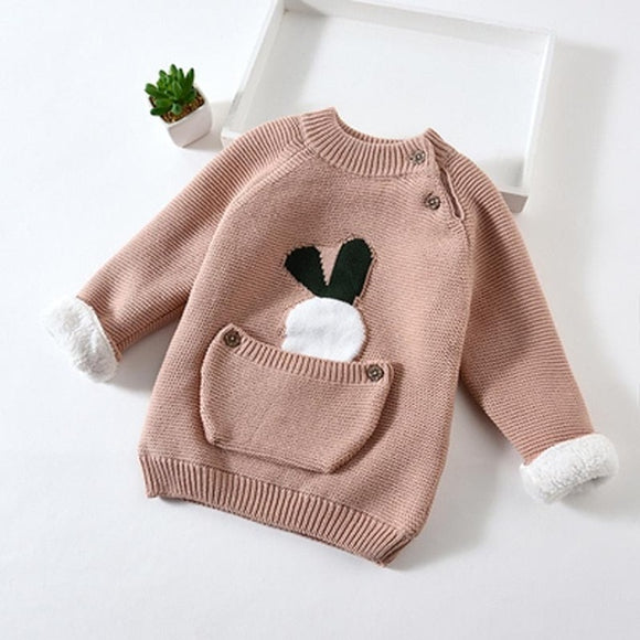 Nude Kids Baby Warm Cotton Sweater