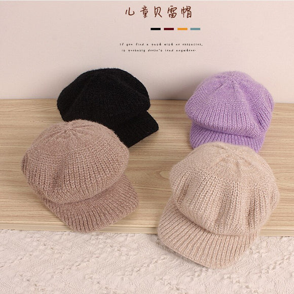 Baby Girl | Hat | Winter | Warm | Knitted