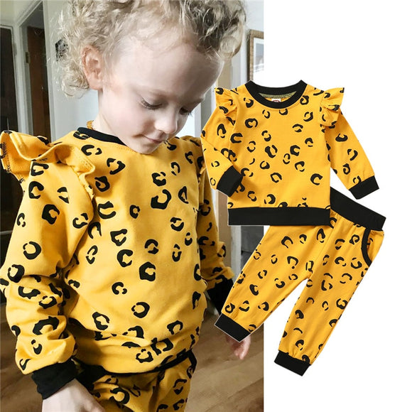 Toddler | Autumn | Leopard | 2-Piece | Set