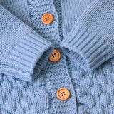 Baby Unisex Boy Girl Newborn Warm Knit Romper Jumpsuit Sweater