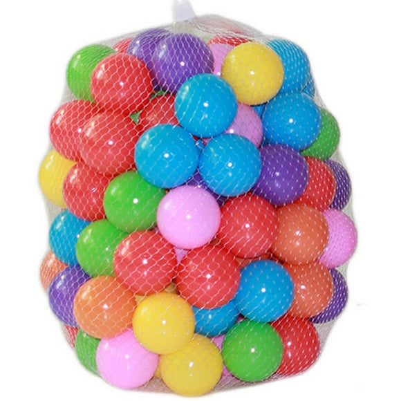 100-Pieces Bag Ball Children Baby Play