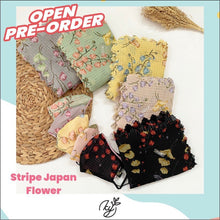 Muat gambar ke penampil Galeri, stripe japan flower set