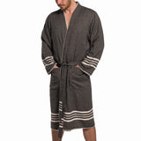 Farmhouse Turkish Towel Robe for Men