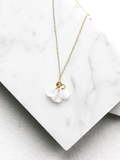 14K Goldfilled Petal Necklace