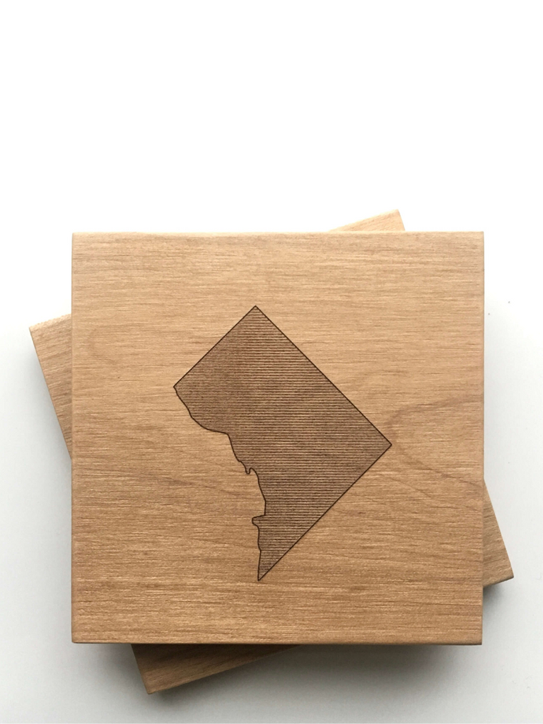 DC Map Coasters