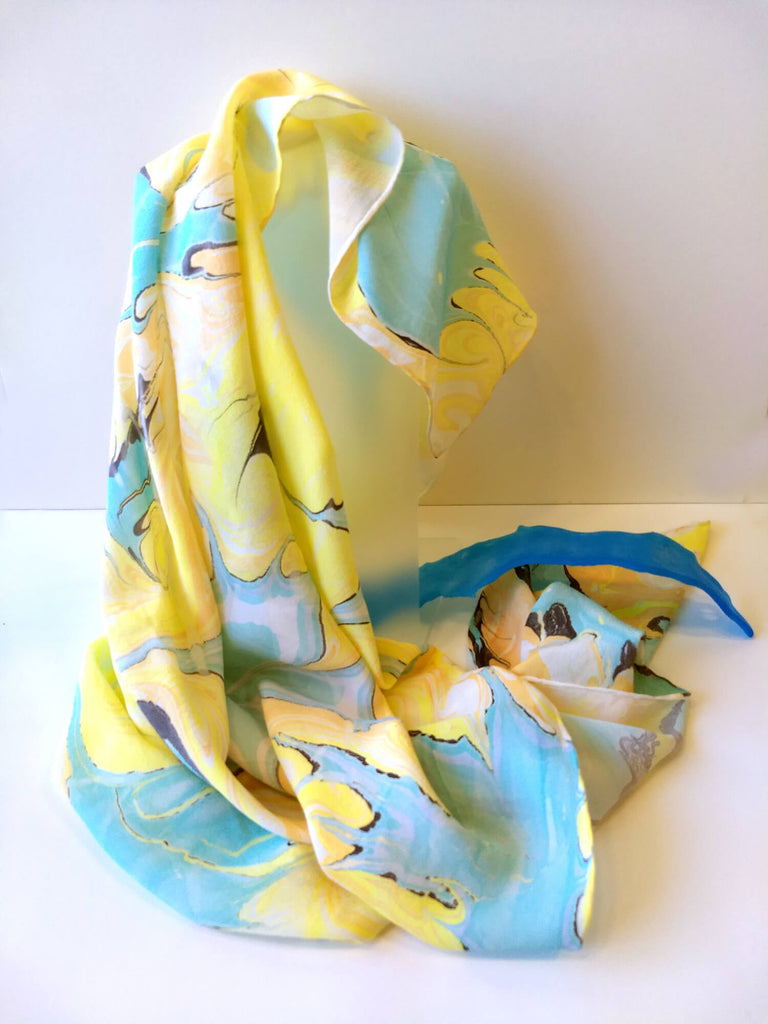 Remembering 80's Silk Scarf