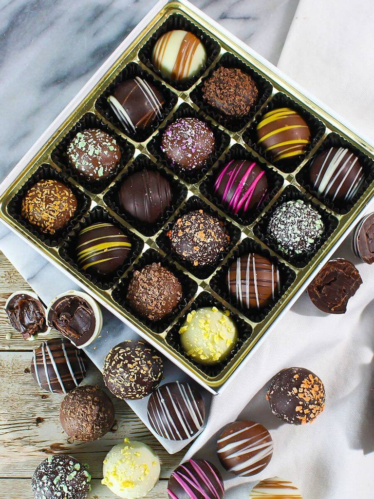 Assorted Truffle Gift Box (8oz)