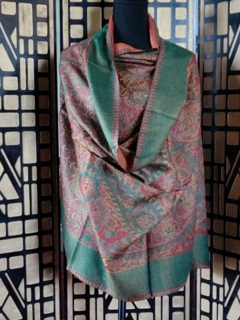 Indian Silk Shawl
