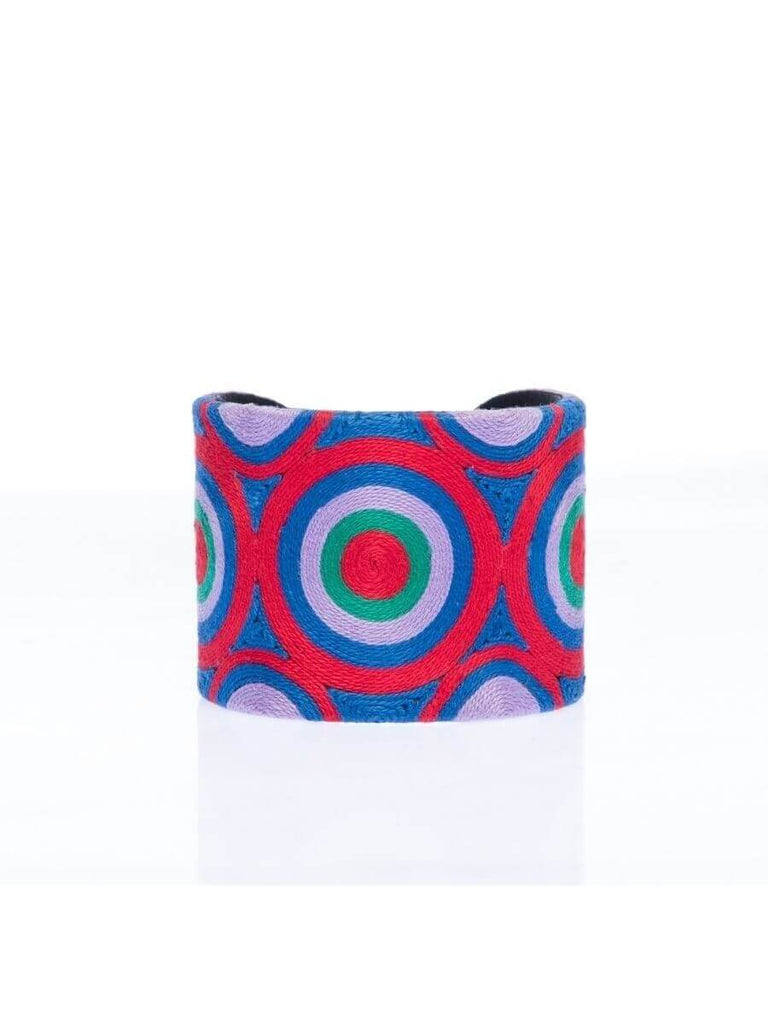 Carissa Cuff in Red