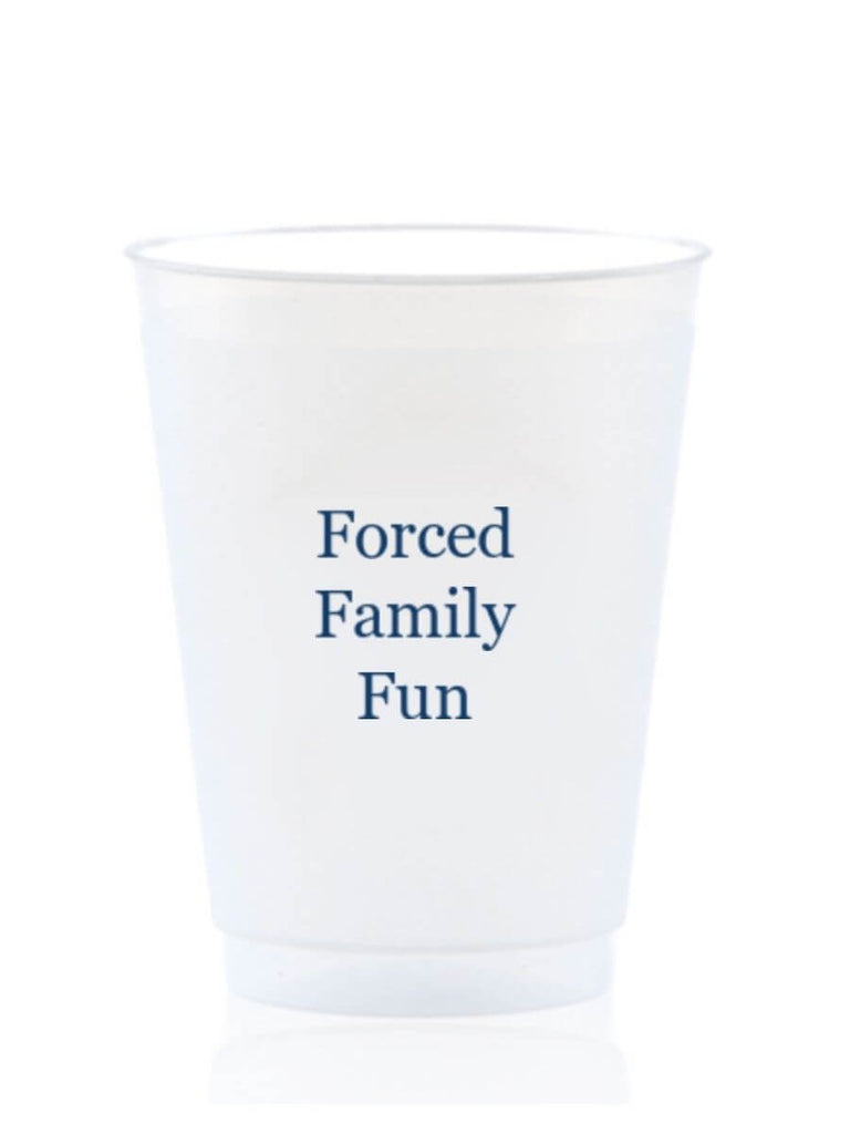 Party Cups-Forced Family Fun
