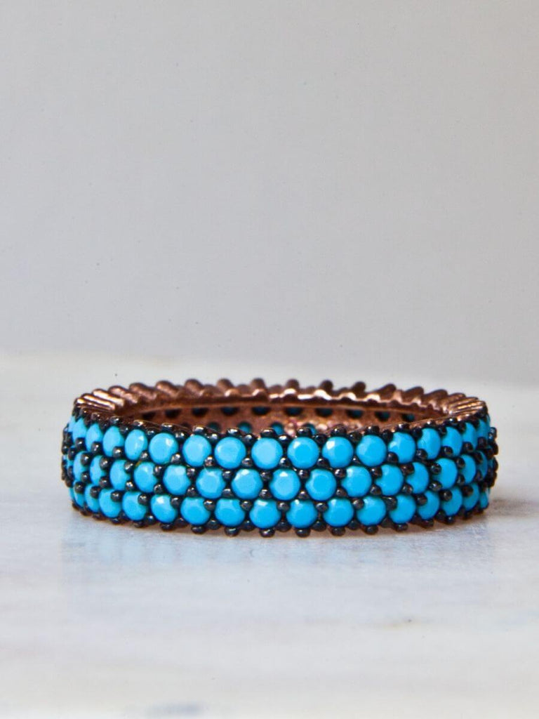Turquoise - Rose Gold-1