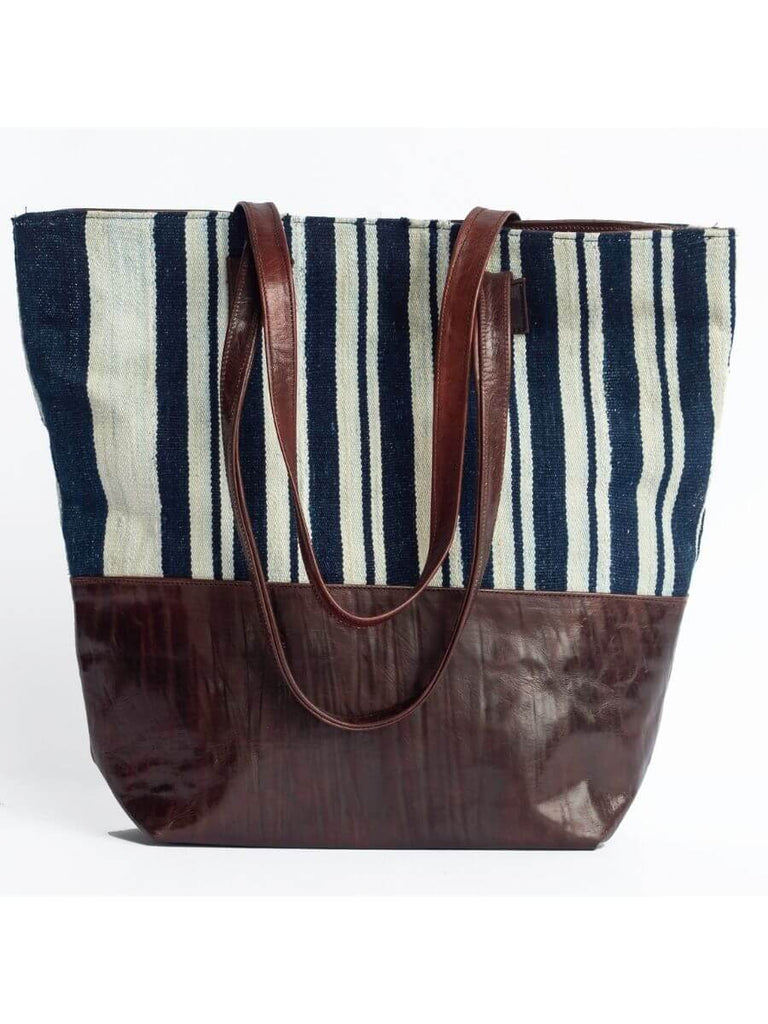 Nautical Indigo Tote