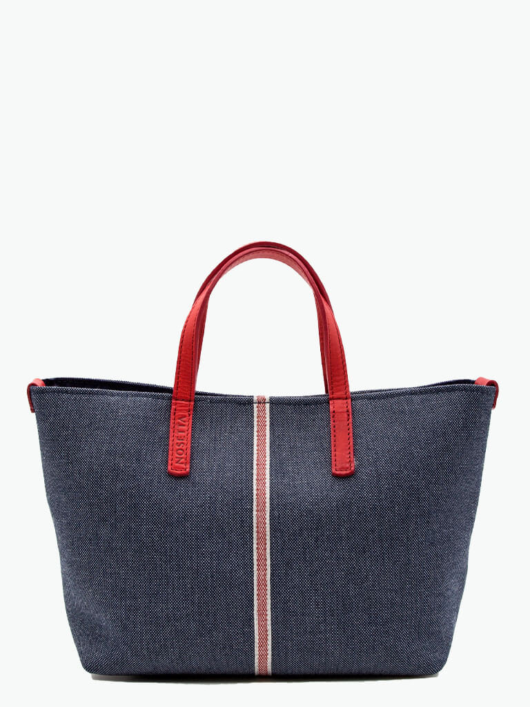 Carlia Denim Small Tote