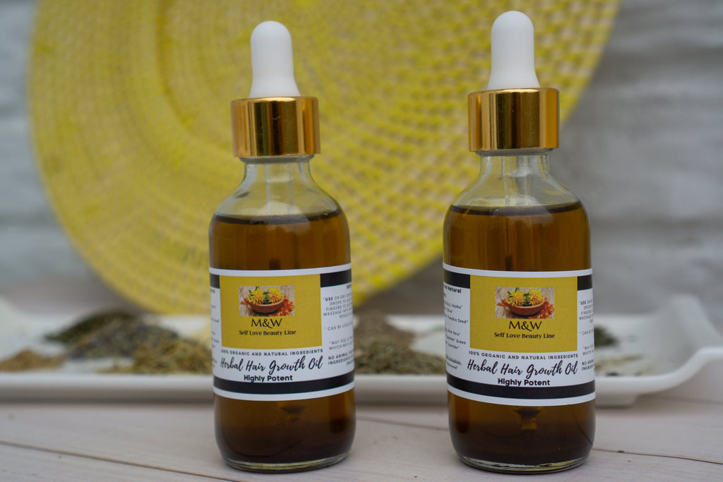 Herbal  Hair Growth Oil (Follicle Stimulator)