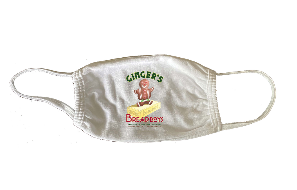 Branded Face Mask from Ginger's Breadboys
