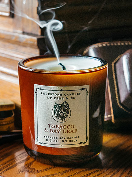 Tobacco & Bay Leaf Candle