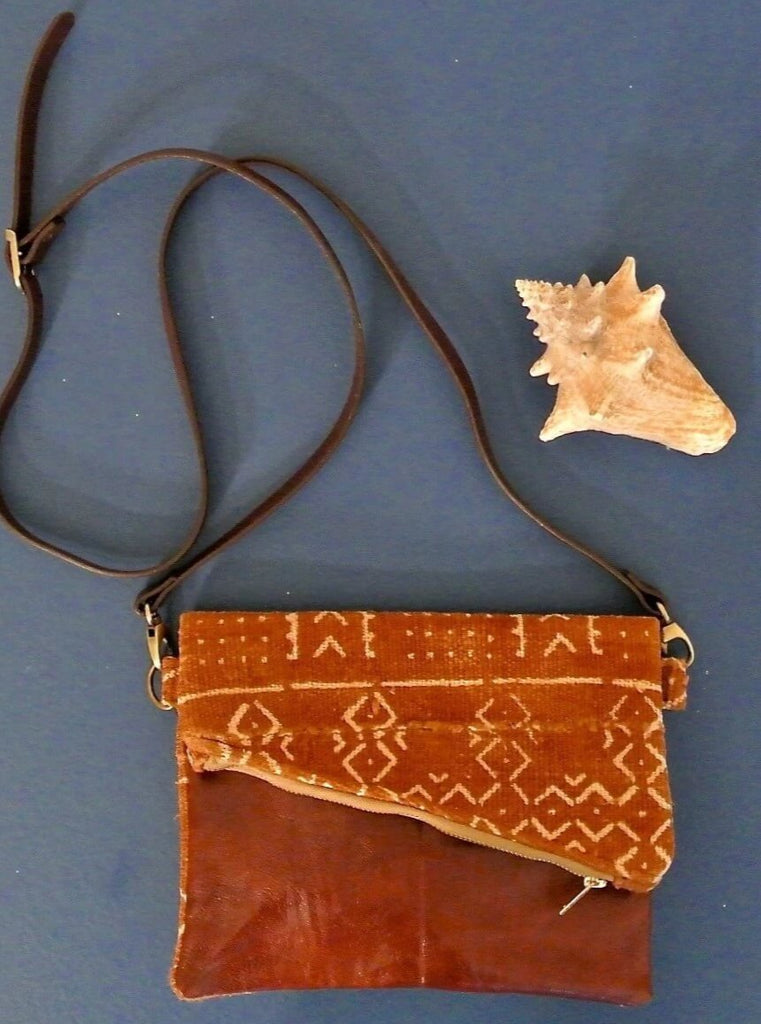 Natural Bogolan Crossbody