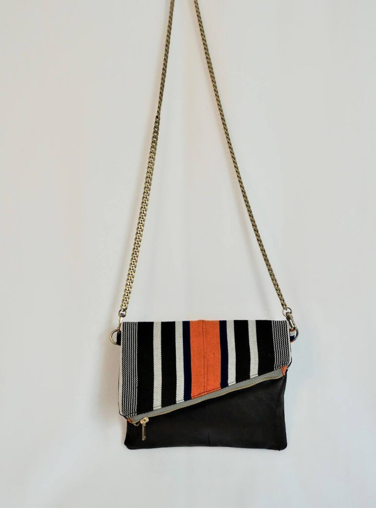 Orange Batakari Crossbody