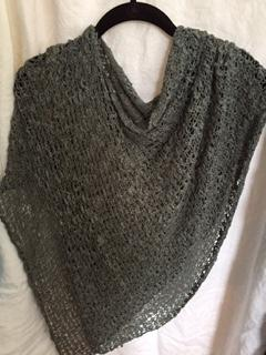 Seasonless Crocheted Knit Ponchos