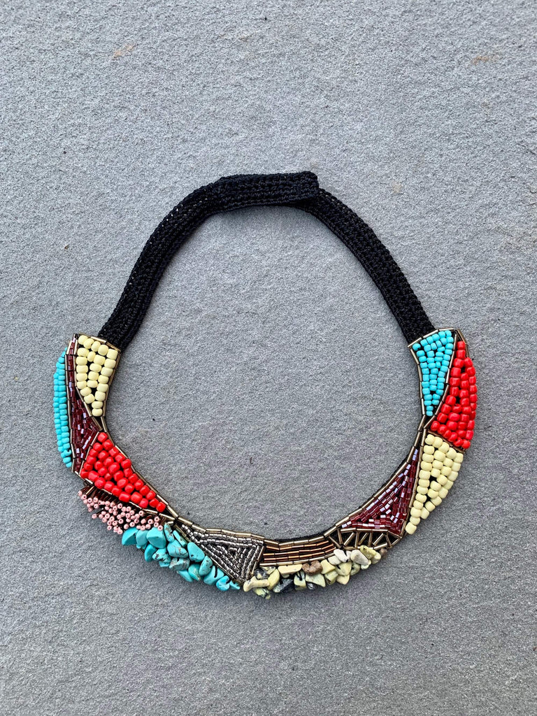 "Social Necklace ""The Colorful Ones"""