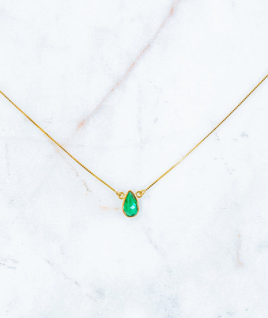 Cleo Thea Emerald Necklace - Fine Jewelry
