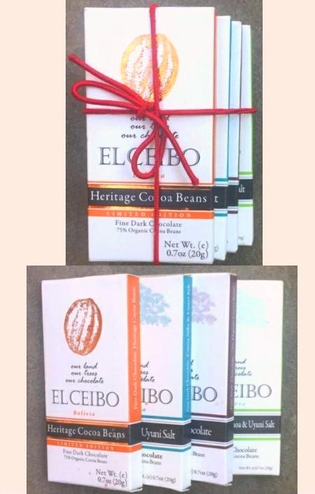 Bolivian chocolate LUXURY COLLECTION - GIFT BOX (5 packages of 4pack)