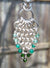 Sterling Silver Green Onyx Pendant Necklace - crystalsbysabeads.com