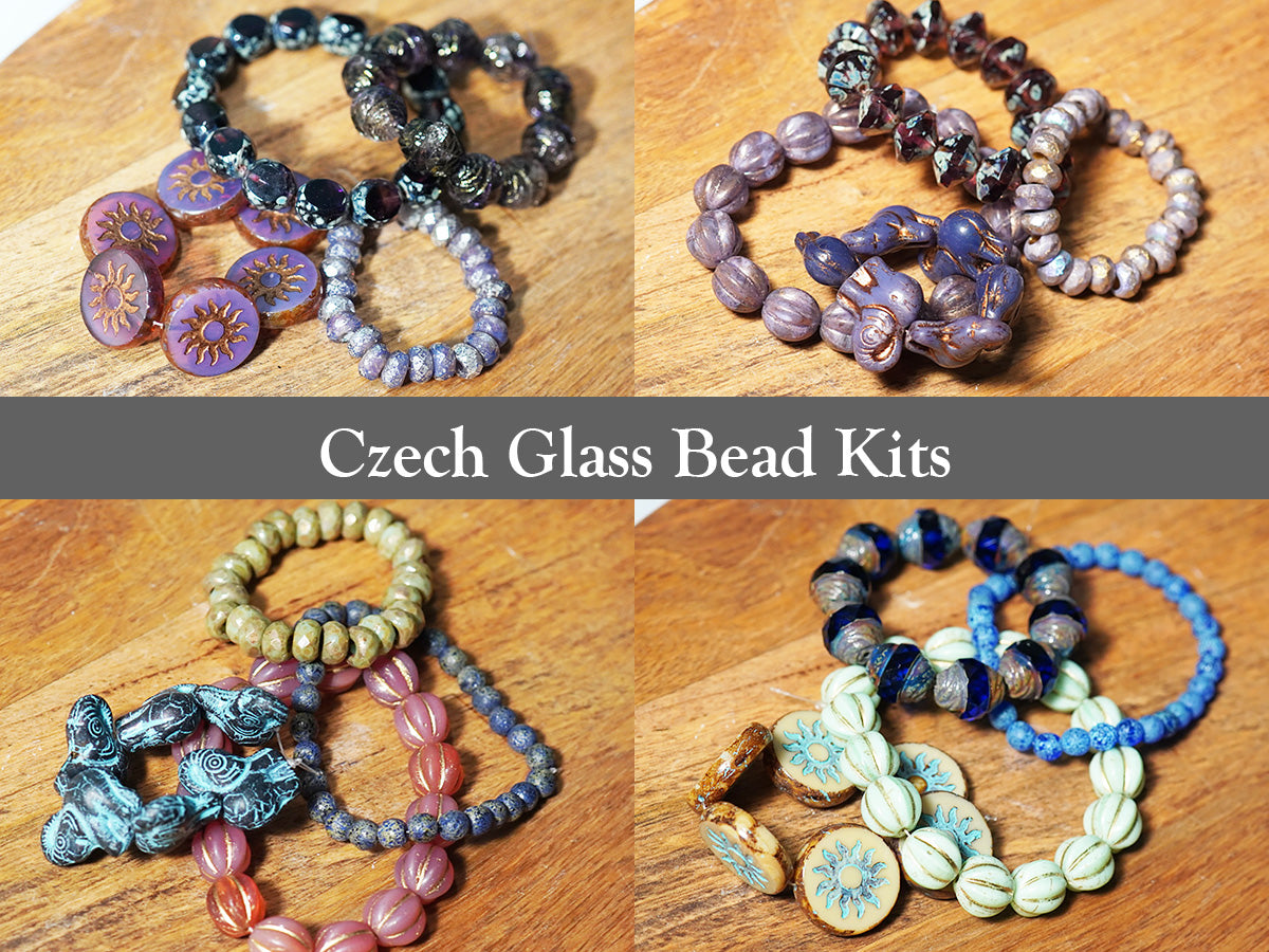 Czech Glass Bead Kits - crystalsbysabeads.com