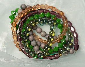 Glass Bead Kits w/Elastic - crystalsbysabeads.com