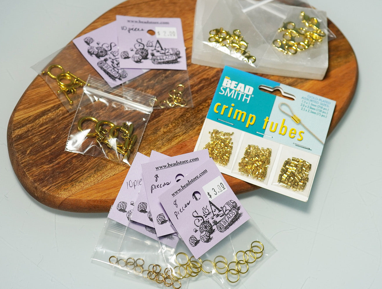 Gold Findings Kit - crystalsbysabeads.com