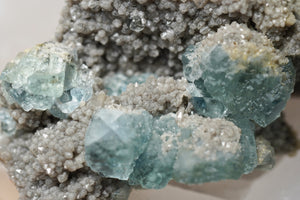 Light Blue Fluorite & Smoky Quartz - crystalsbysabeads.com