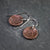 Persian Ibex Copper Earrings - crystalsbysabeads.com