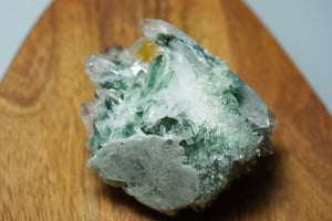 Phantom Quartz with Green Chlorite & Citrine - crystalsbysabeads.com