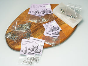 Silver Findings Kit - crystalsbysabeads.com