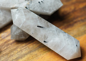 Smoky Quartz Double Terminated Wand - crystalsbysabeads.com