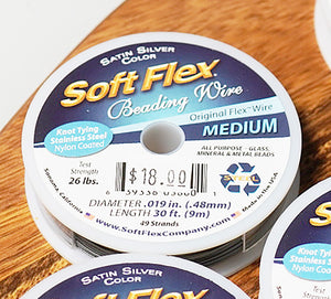 Soft Flex Spool - crystalsbysabeads.com