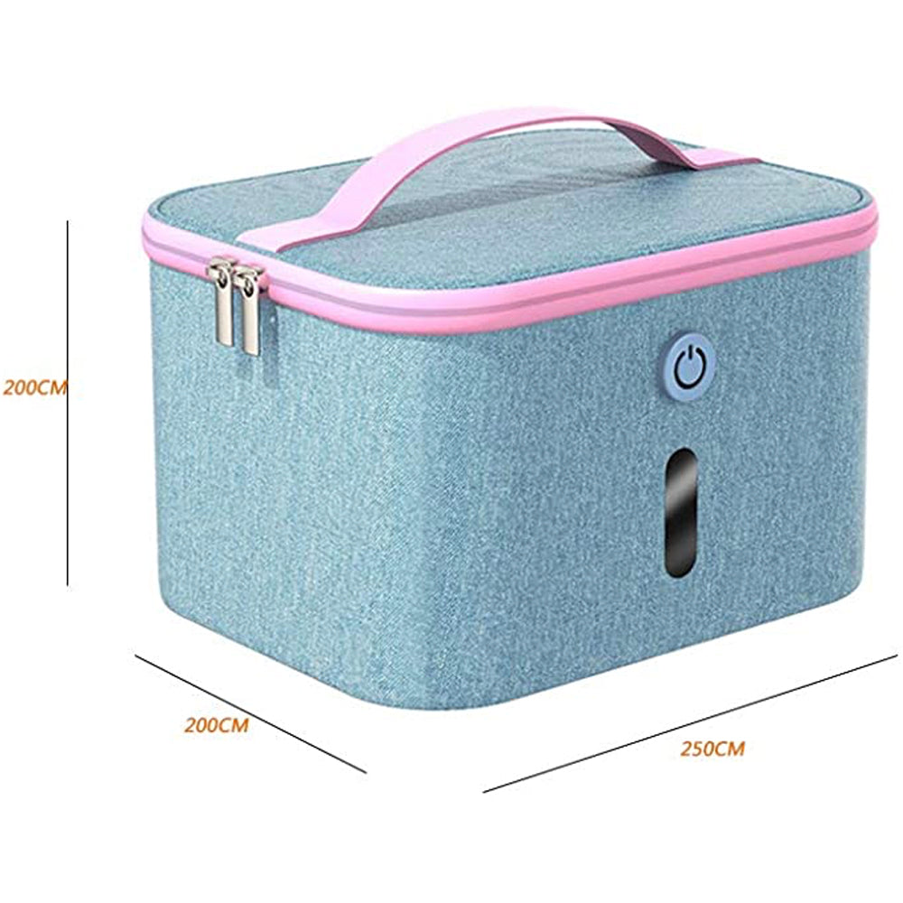 UVC LED Cleaner and Sanitizer Bag,USB Portable Disinfection Box