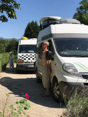 Camping, swimming and paddling our way through France 2019