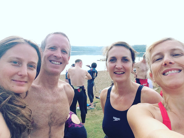 Plant Belles open water swimming team