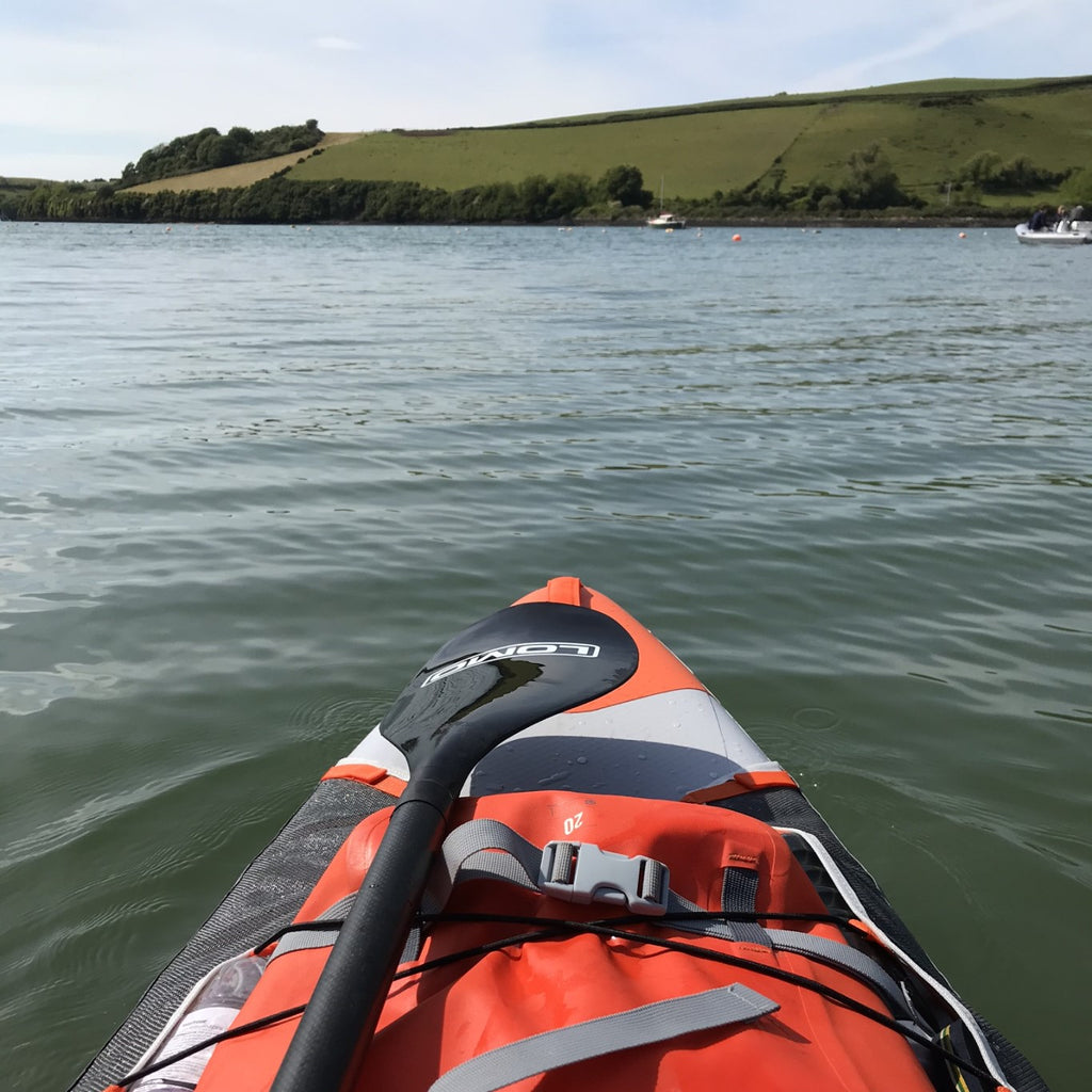 Work life balance, stand up paddle boarding in South Devon