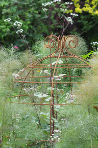Obelisks and grow-through plant supports. Also great for training roses. RHS Cheslea award finalists