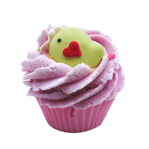 Bird's Nest Cupcake Bath Bomb