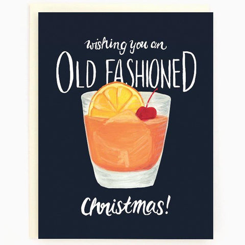 Carte - Old Fashioned Christmas