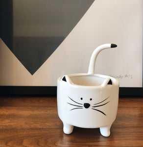 Pot pour plantes - Chat