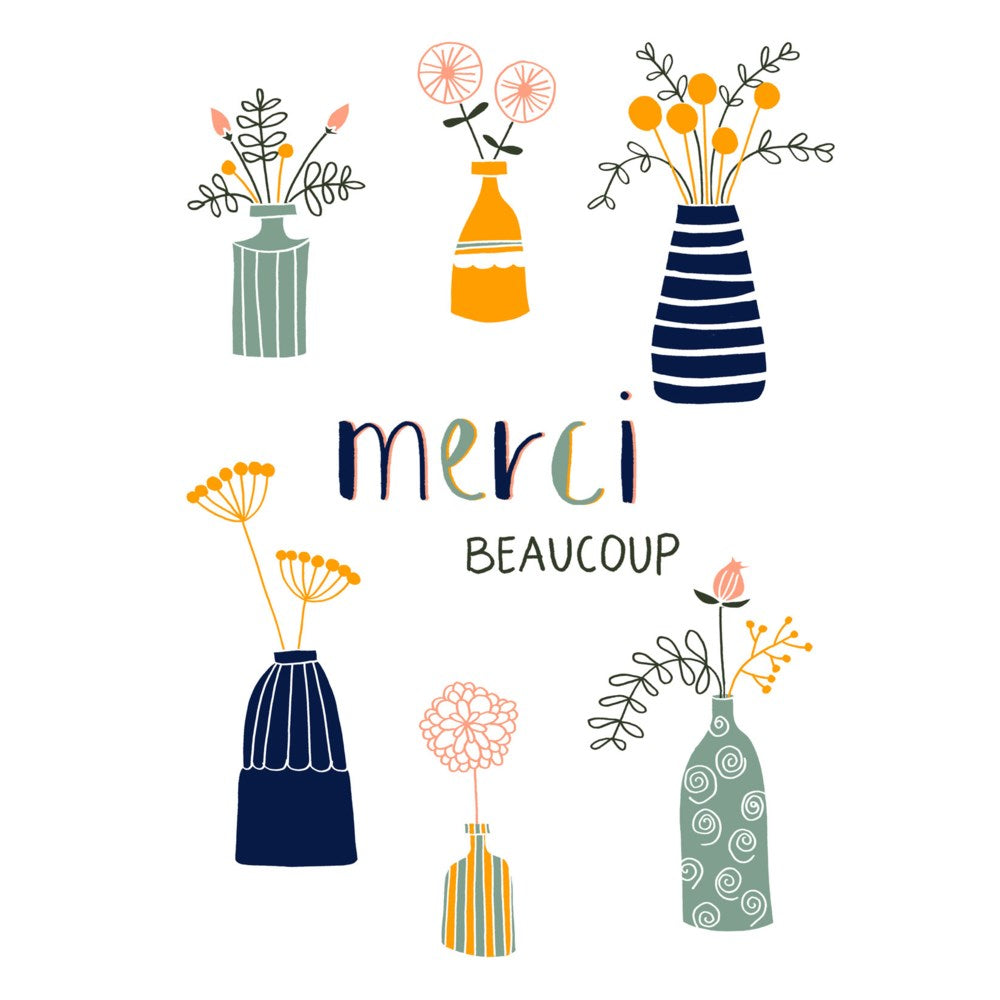 Carte - Merci beaucoup