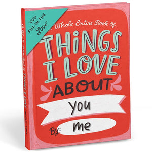 Livre à compléter - Things I Love about You