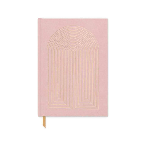 Cahier - Rose + Arche or