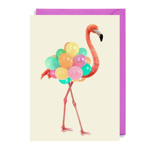 Carte - Flamand rose